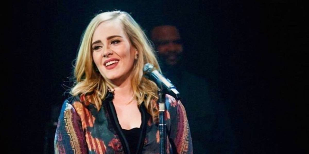 Adele fascinó a todos con su increíble silueta en el gimnasio