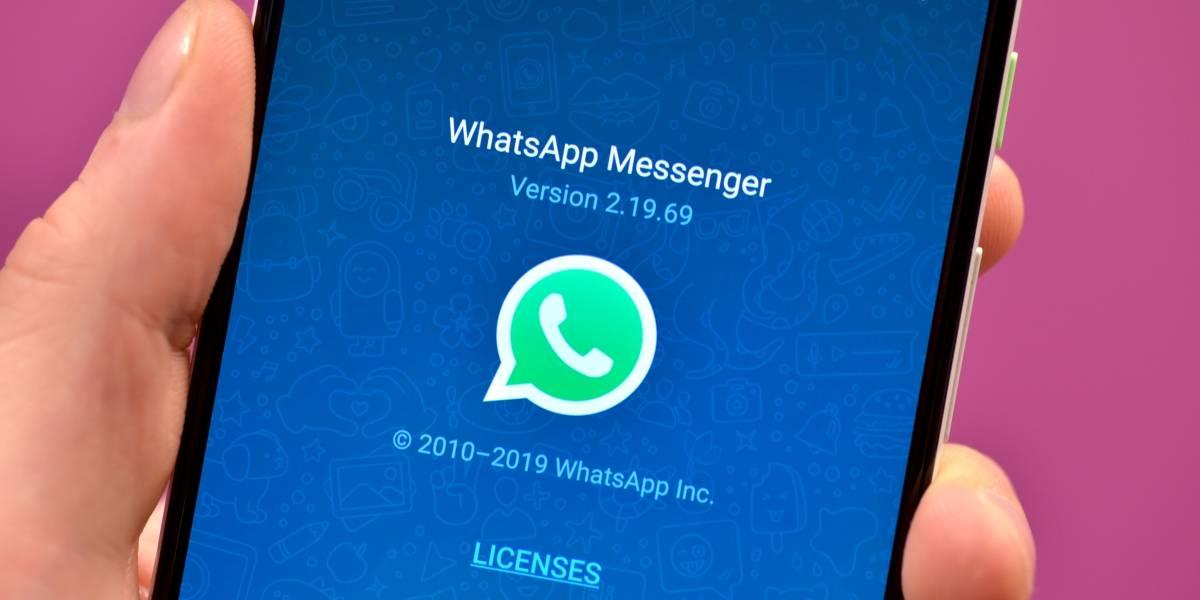 Nova atualização beta do aplicativo WhatsApp para Android liberada nesta semana