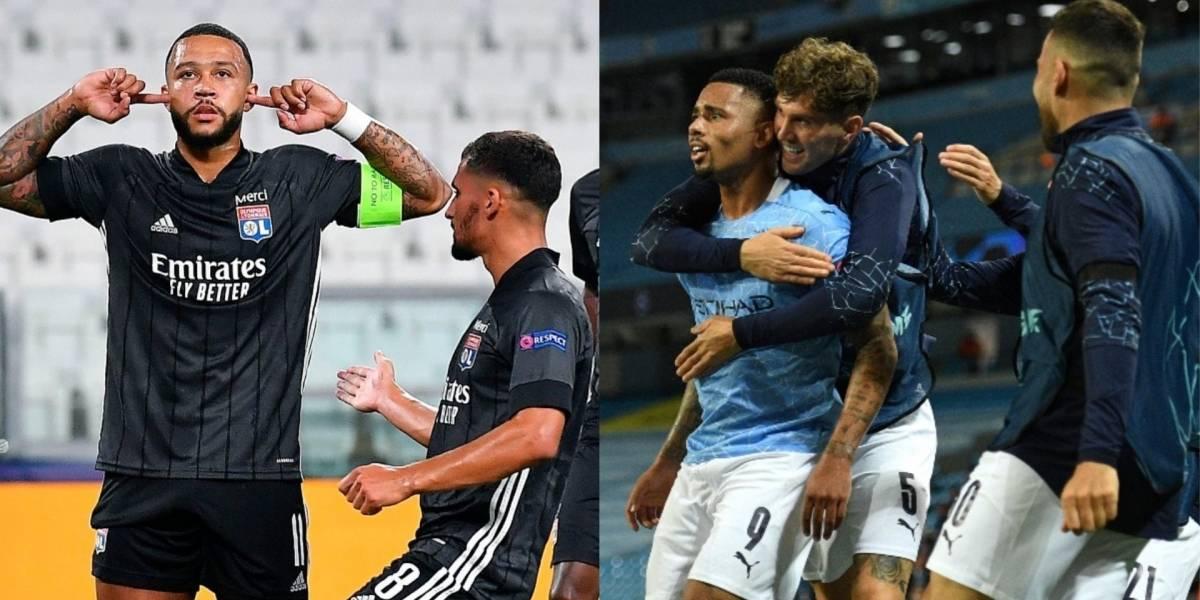 Así están quedando los cuartos de final de la Champions League