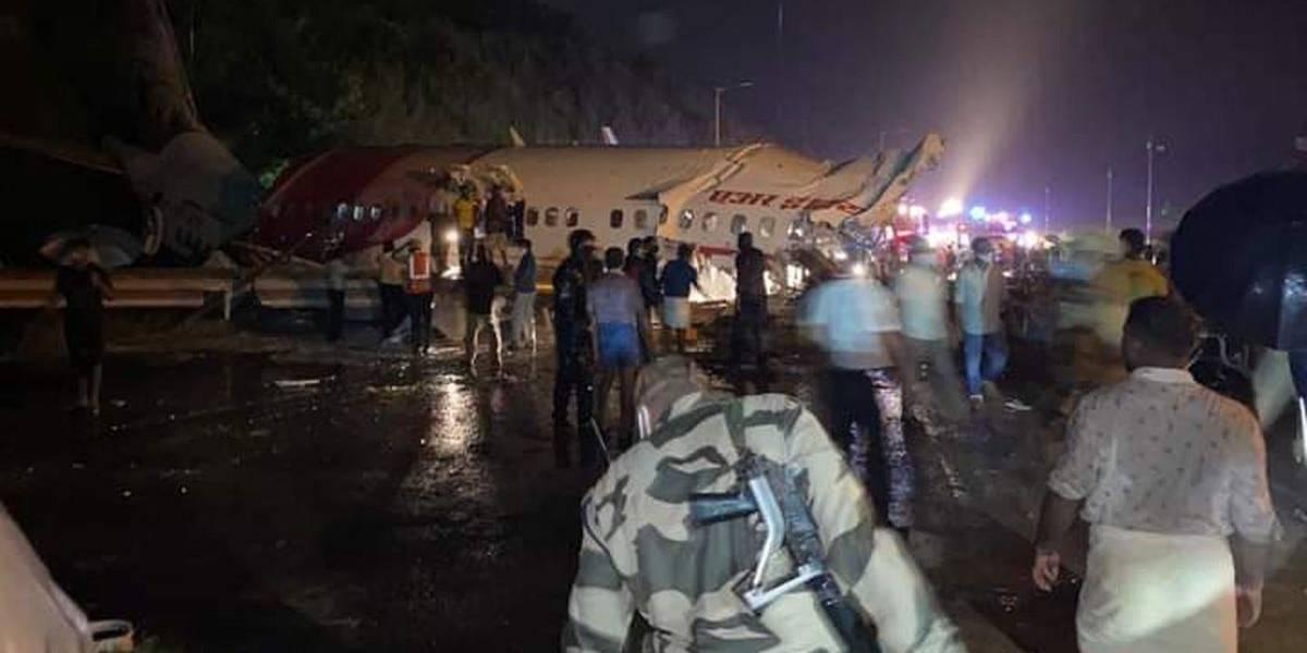Avião que caiu na Índia fazia repatriação pós-pandemia; ao menos 20 morreram