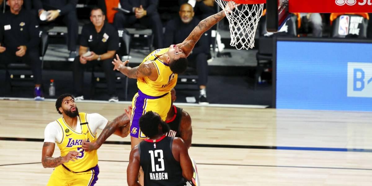 James Harden se encarga de cargar a sus Rockets para derrotar a los Lakers