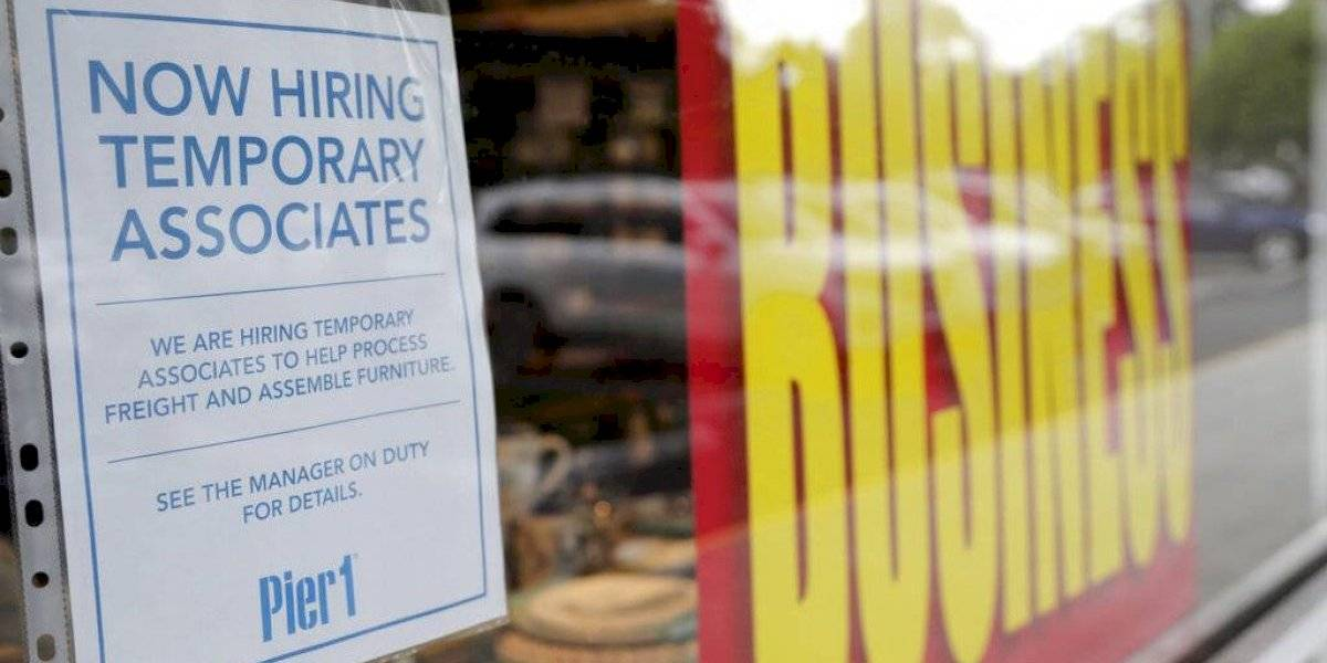 Estados Unidos crea 1,8 millones de empleos en julio