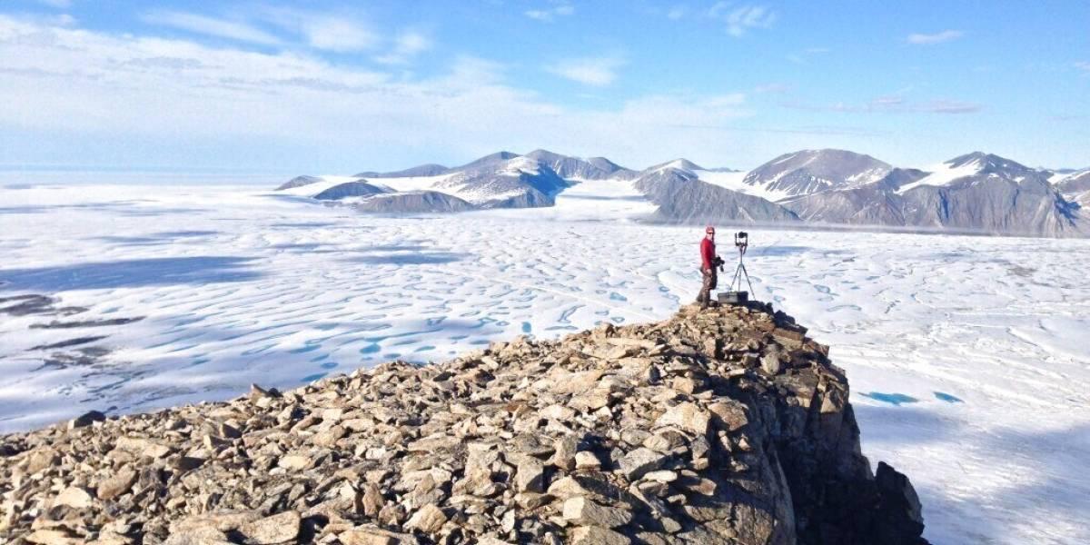 Última plataforma intacta de hielo en Canadá se rompe