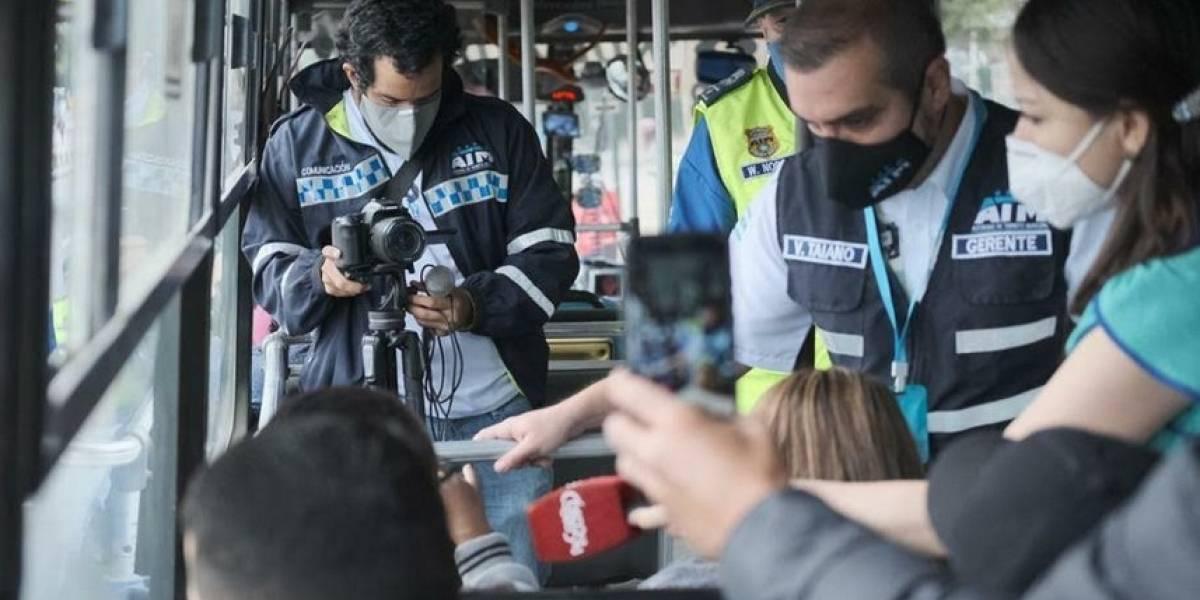 ATM reitera multas de $80 por no usar mascarilla en la Metrovía