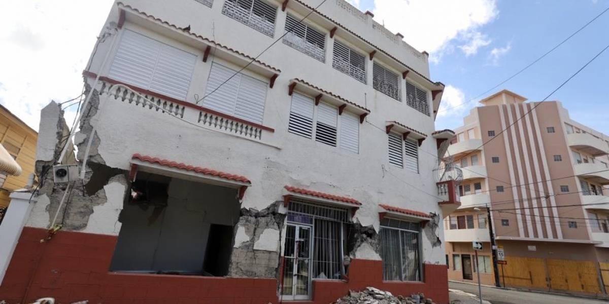 Representan mayor amenaza varios edificios en Ponce luego de temblores recientes