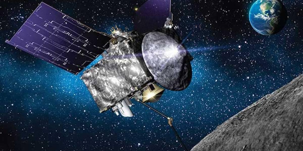 NASA: OSIRIS-REx detalló un comportamiento nunca antes visto en el asteroide Bennu
