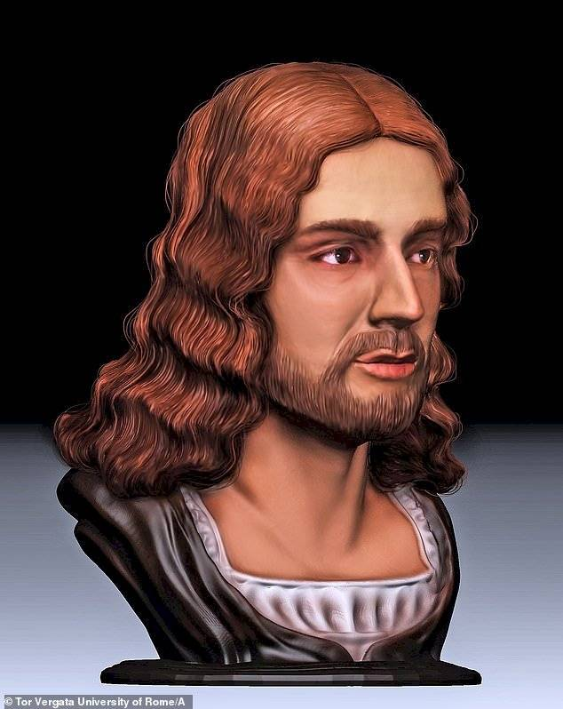 Reconstrucción del rostro de Rafael