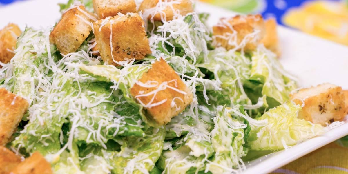 Aprenda a fazer uma deliciosa salada caesar