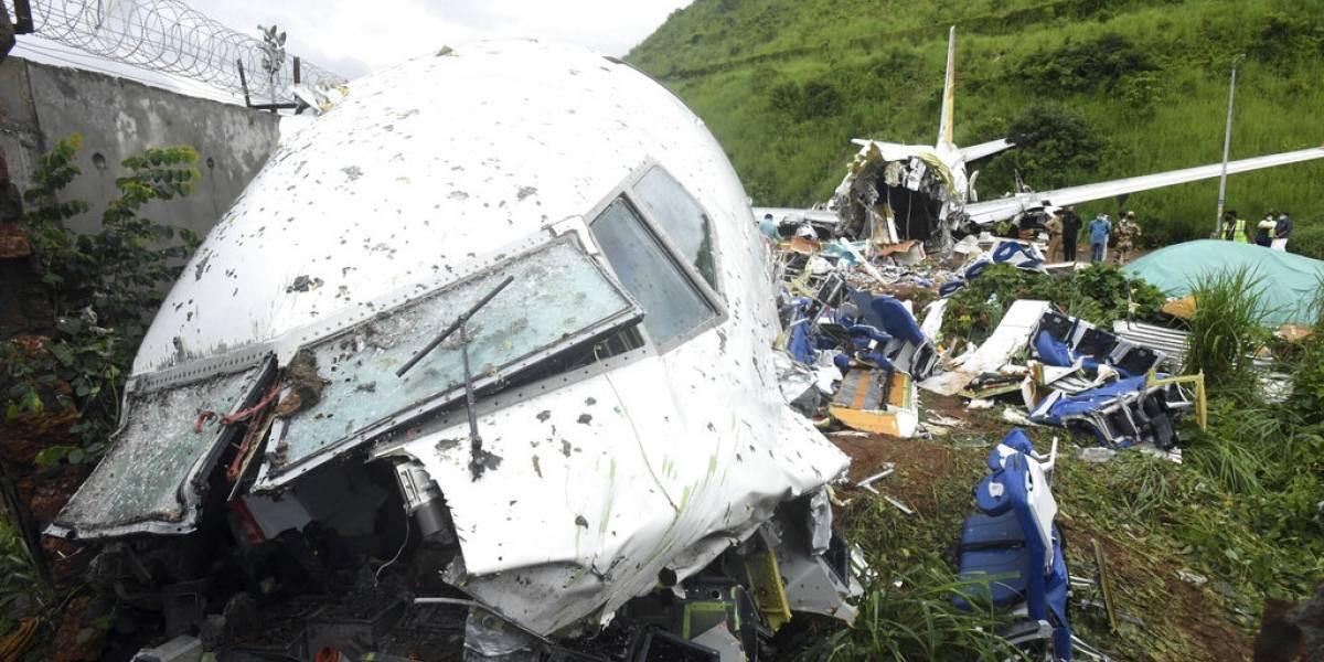 Fotos: avión con 190 personas a bordo se partió en dos al aterrizar