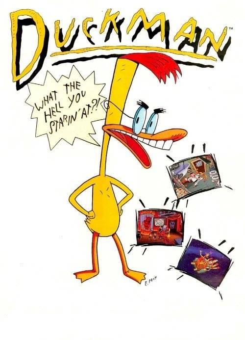 Los Simpson Duckman