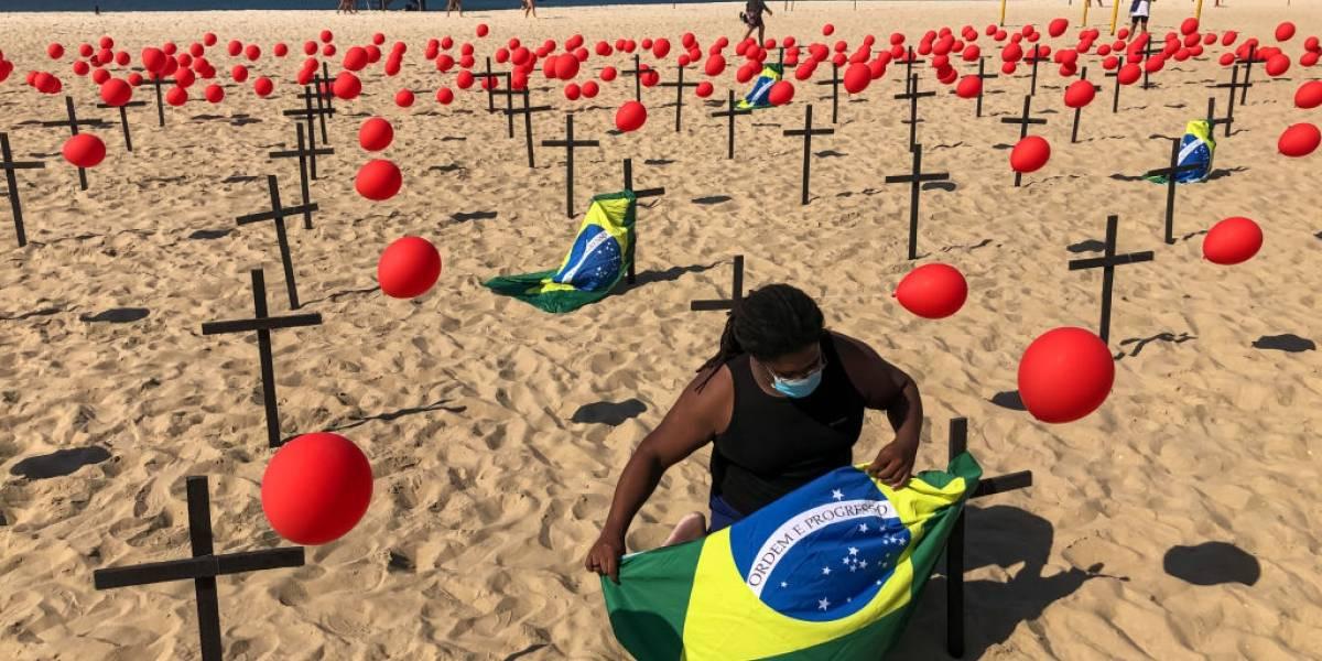 Covid-19: 55 mil foram infectados e mais mil faleceram no Brasil nesta quarta