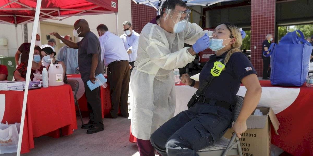Estados Unidos tiene la cifra más alta de coronavirus en el mundo