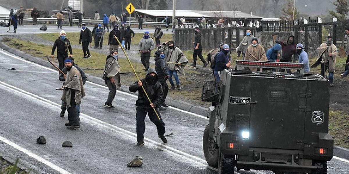 Tensión en La Araucanía: Carabinero sufre trauma ocular grave en Curacautín