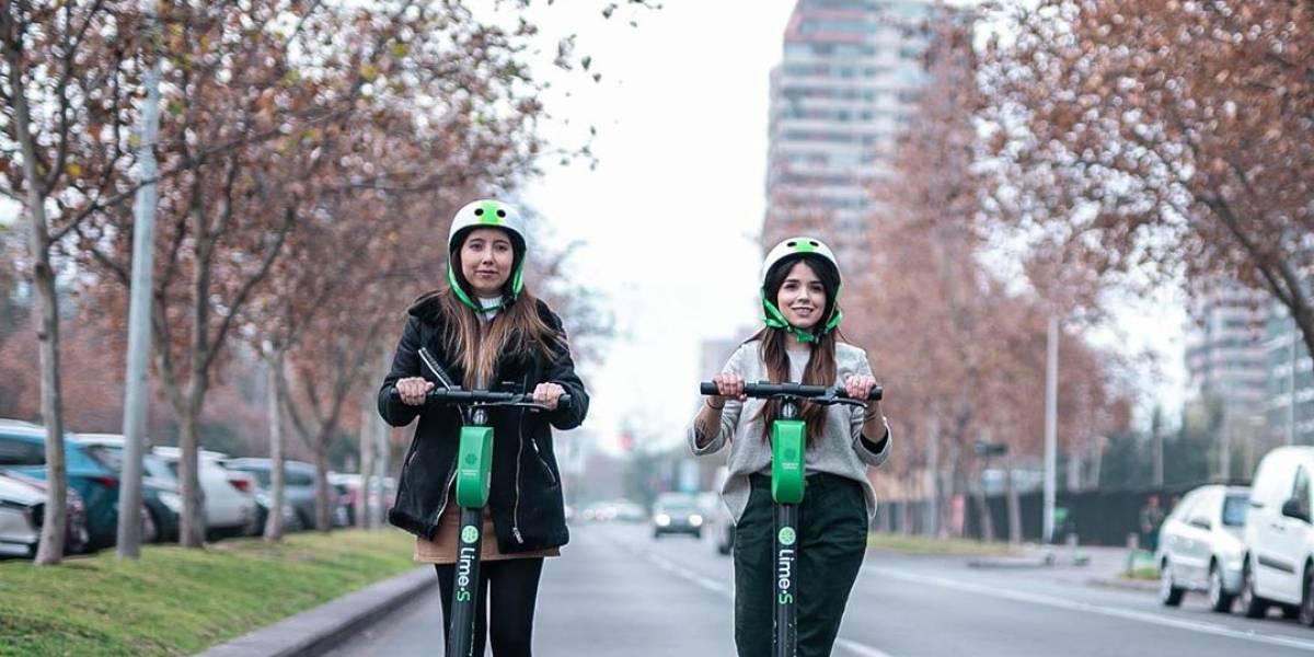 Con el desconfinamiento, vuelven las patinetas de Lime a las calles del sector oriente de Santiago