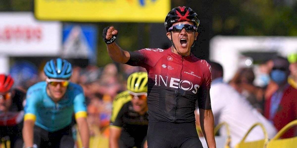 Team INEOS explicó el porqué Richard Carapaz se retiró del Tour Polonia