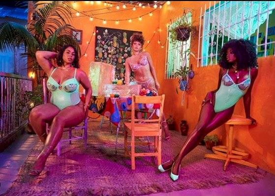 lencería de Rihanna
