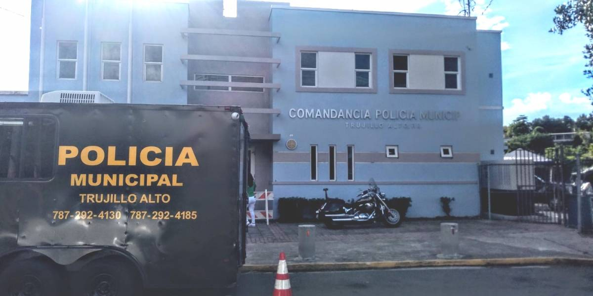 Cierran Comandancia Municipal de Trujillo Alto ante casos positivos a COVID-19