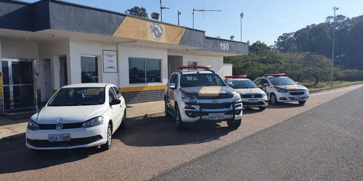 Carro com dívida de R$ 483 mil é apreendido no interior de São Paulo