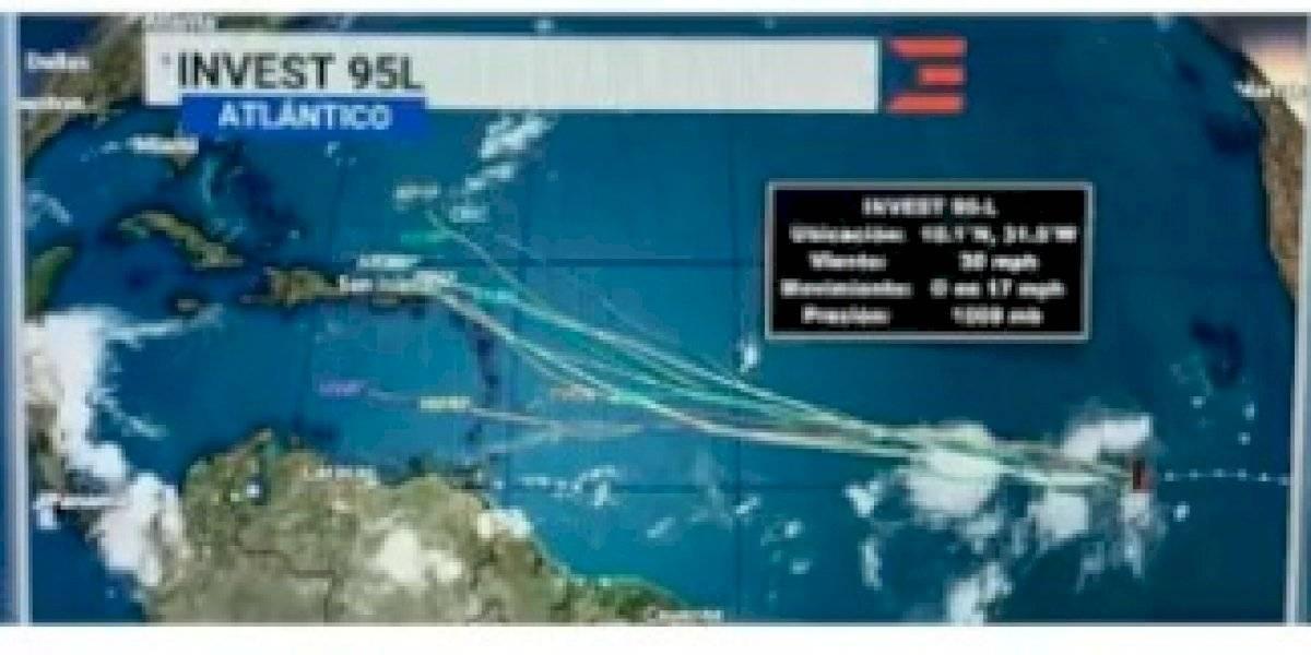 Vigilan sistema tropical que podría pasar cerca de Puerto Rico este fin de semana