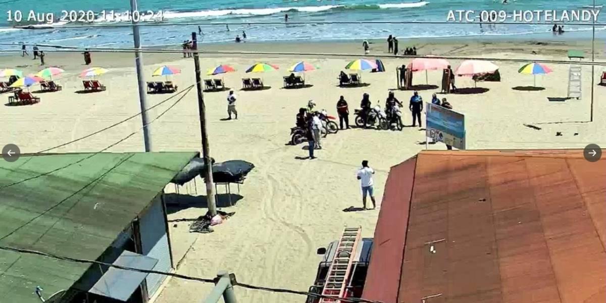 Así lucen las playas de Ecuador este feriado del 10 de agosto