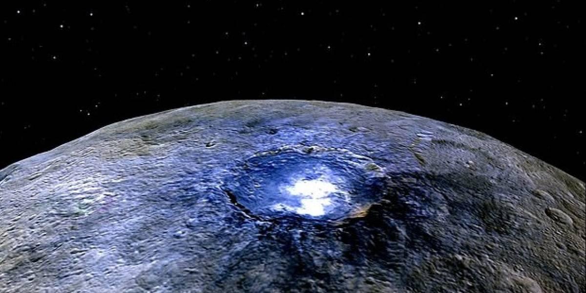 Ceres, el planeta enano más cercano a la Tierra, sería un mundo acuático según científicos