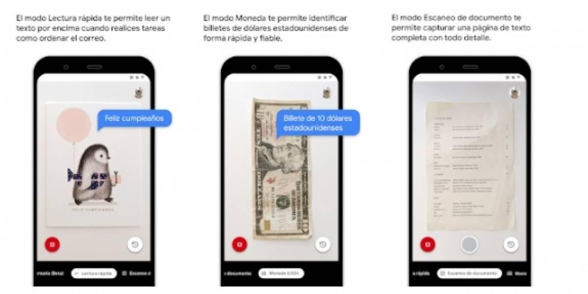 Las novedades con las que viene el lanzamiento de Google LookOut en su segunda versión, ahora incluyendo el español