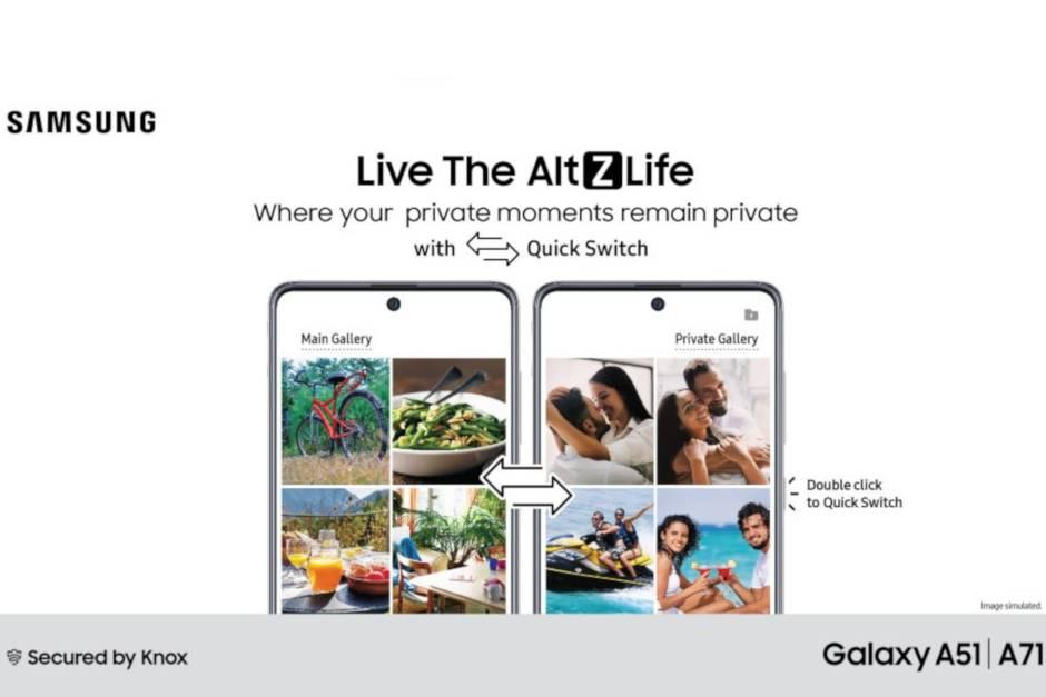 Samsung Galaxy Modo Privado
