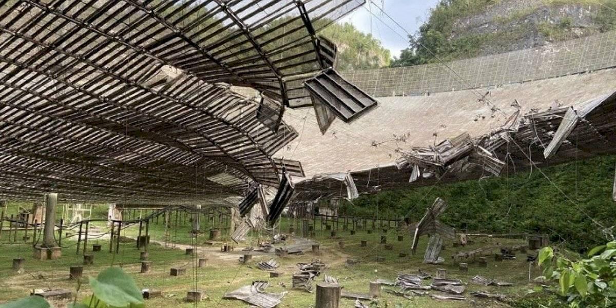 Progresan trabajos para reparar daños en el Observatorio de Arecibo