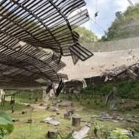 Cable roto causa daños al Observatorio de Arecibo