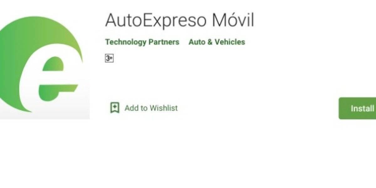 DTOP alerta tras personas descargar app no oficial de AutoExpreso