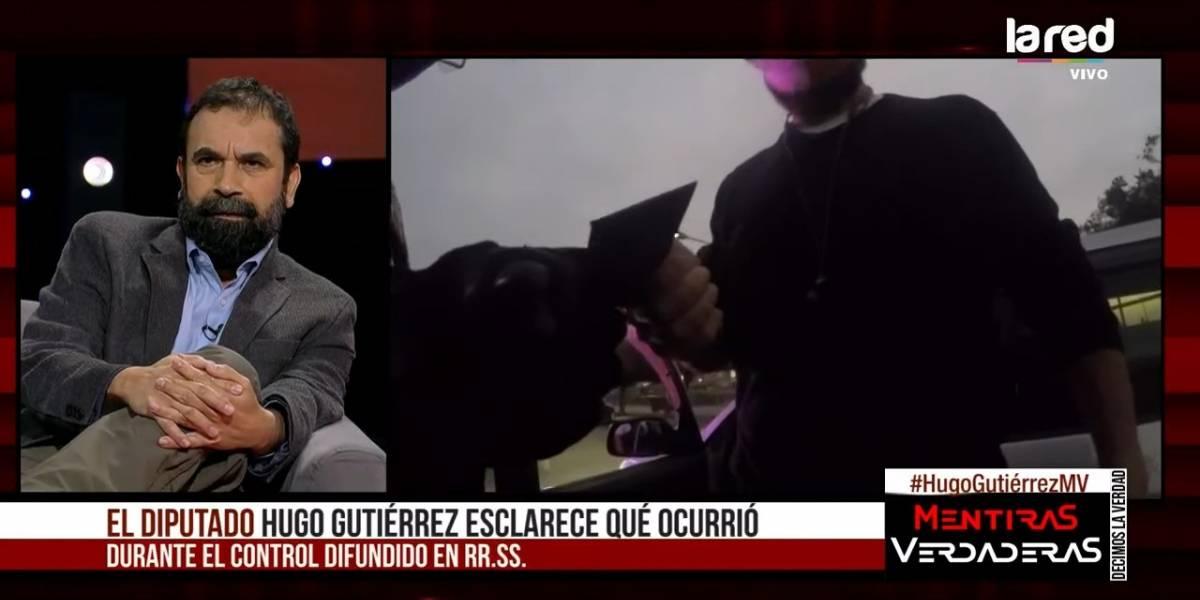 """Hugo Gutiérrez y la polémica con la Armada: """"Es una bajeza que se quieran meter con mi familia"""""""