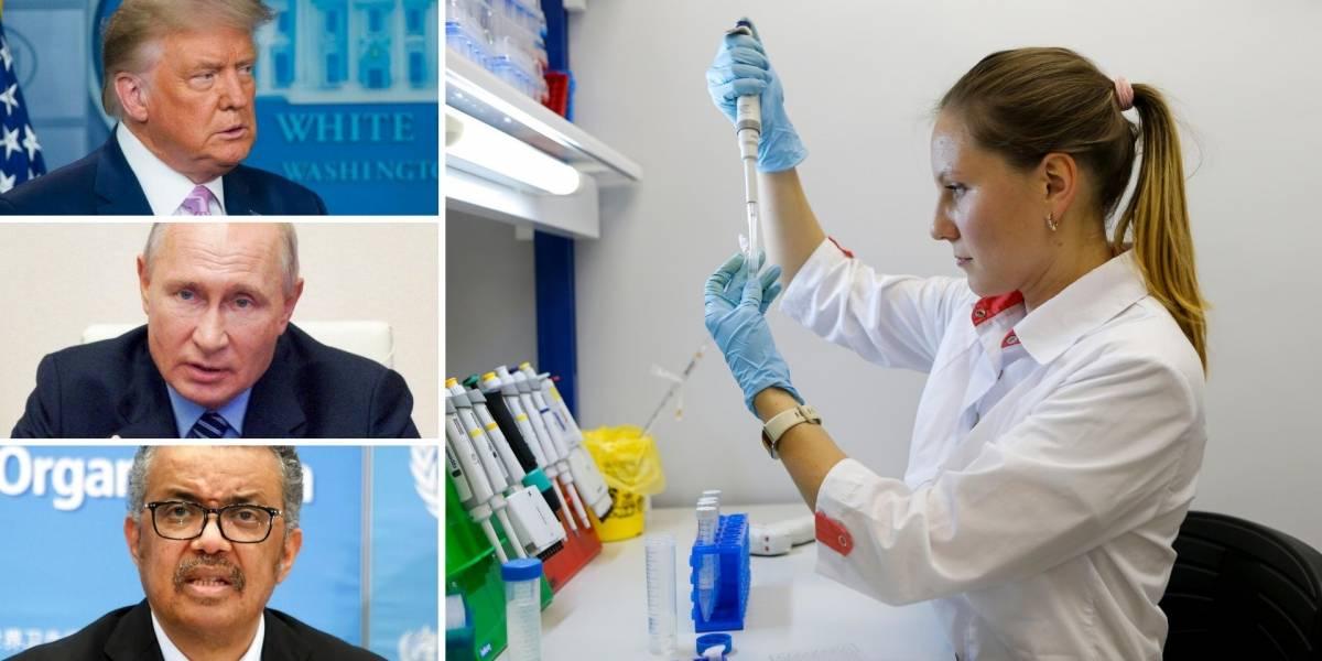 El mundo cuestiona a Rusia por su vacuna contra el coronavirus