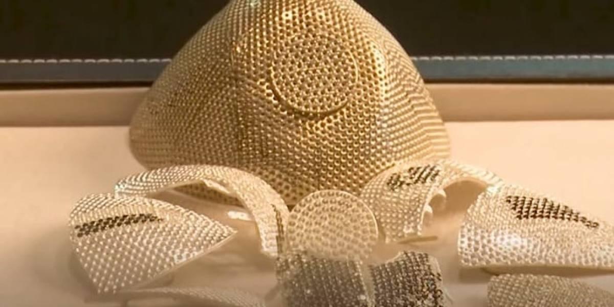 Esta es la lujosa mascarilla que supera el millón de dólares ¡y tiene diamantes!