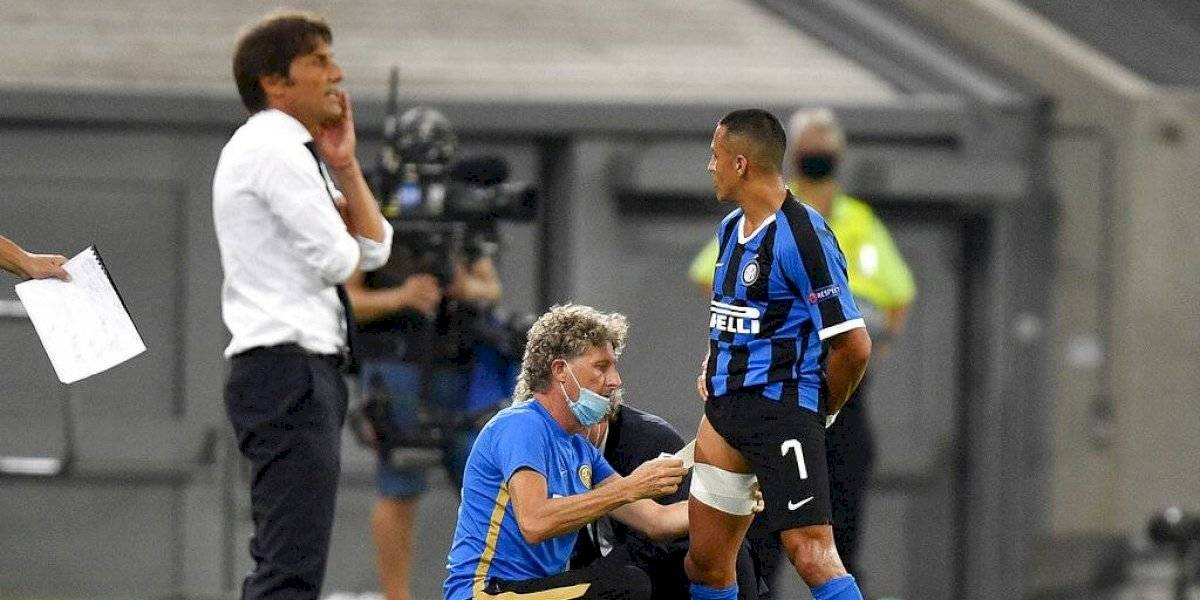 Inter sin Maravilla: Alexis Sánchez se perderá la semifinal de la Europa League por lesión