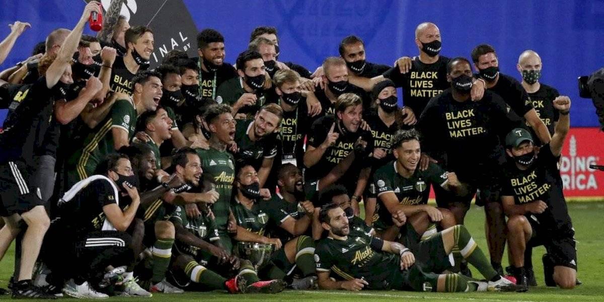 """Felipe Mora se corona campeón de la """"MLS is Back"""" con el Portland Timbers"""