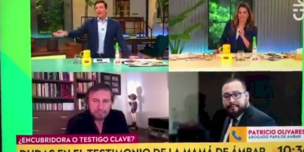 """""""Entonces te despedimos"""": el tenso diálogo entre Julio César Rodríguez y el abogado del papá de Ámbar"""