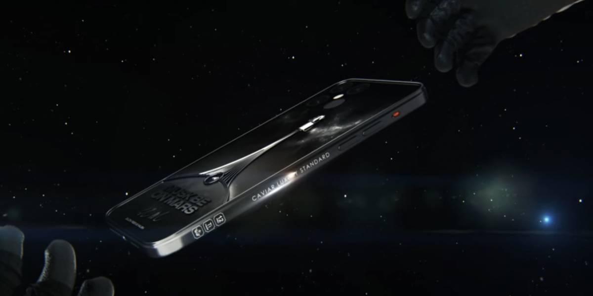 iPhone 12: crean un modelo inspirado en SpaceX con cuerpo de titanio y la firma de Elon Musk