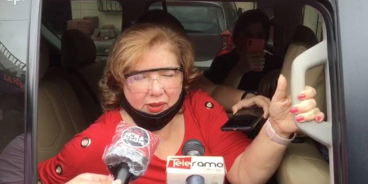 """""""Quieren matarlo"""": Las declaraciones de Rosa Pulley, esposa de Abdalá Bucaram"""