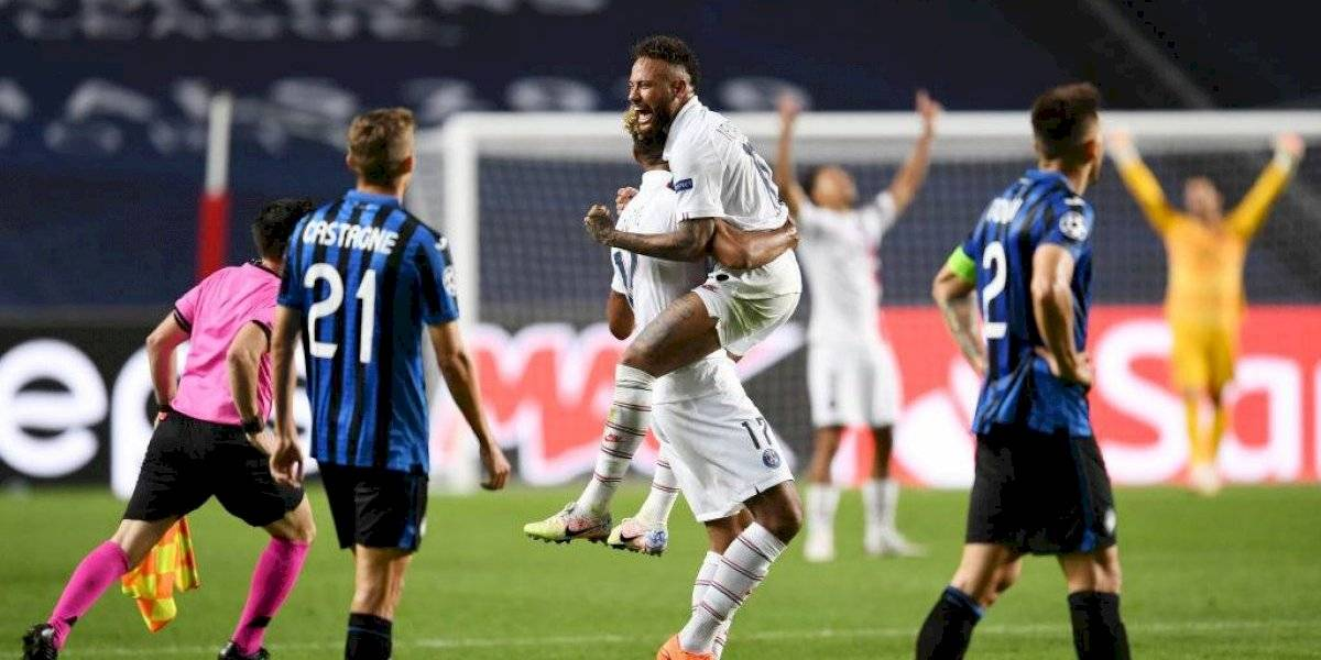 No hubo hazaña: Atalanta se desvaneció en la agonía y el poderoso PSG firmó su paso a las semis de la Champions League