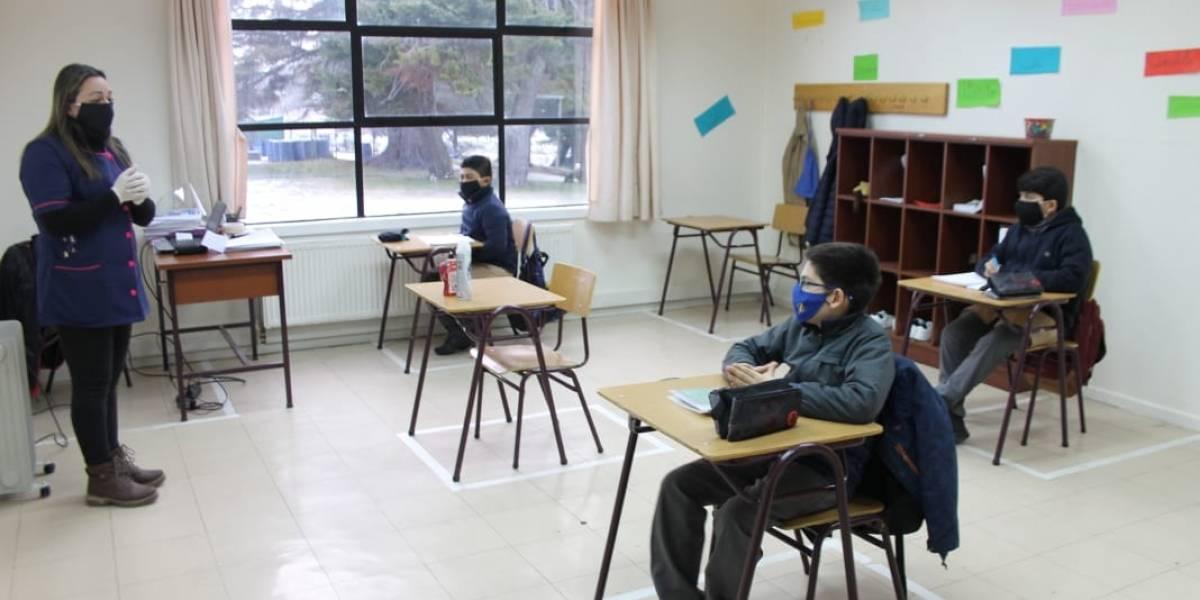 De vuelta a clases: catorce escuelas y jardines ya están funcionando con protocolos anti-covid