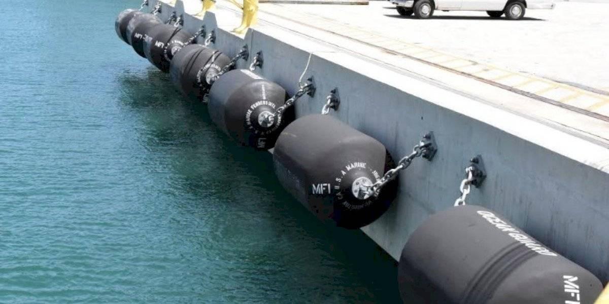 Puertos adquirirá nuevas defensas para muelles de Puerto Nuevo