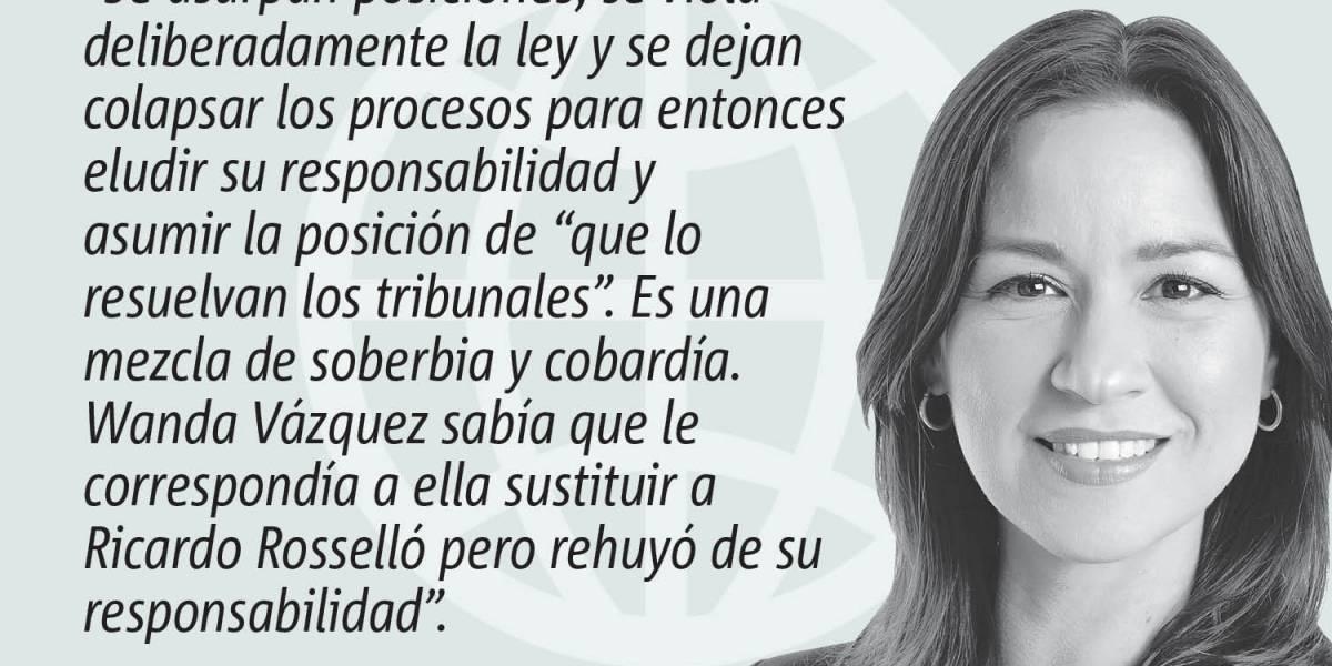 """Opinión de Rosa Seguí: La política del """"Sue me"""""""