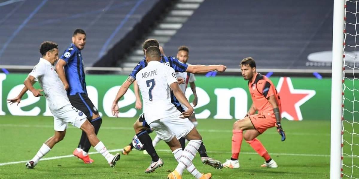 El PSG destruye en el añadido el sueño de Atalanta y vuela a semifinales