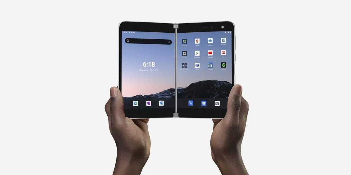 Samsung Galaxy Z Fold S competiría contra la Surface Duo en 2021