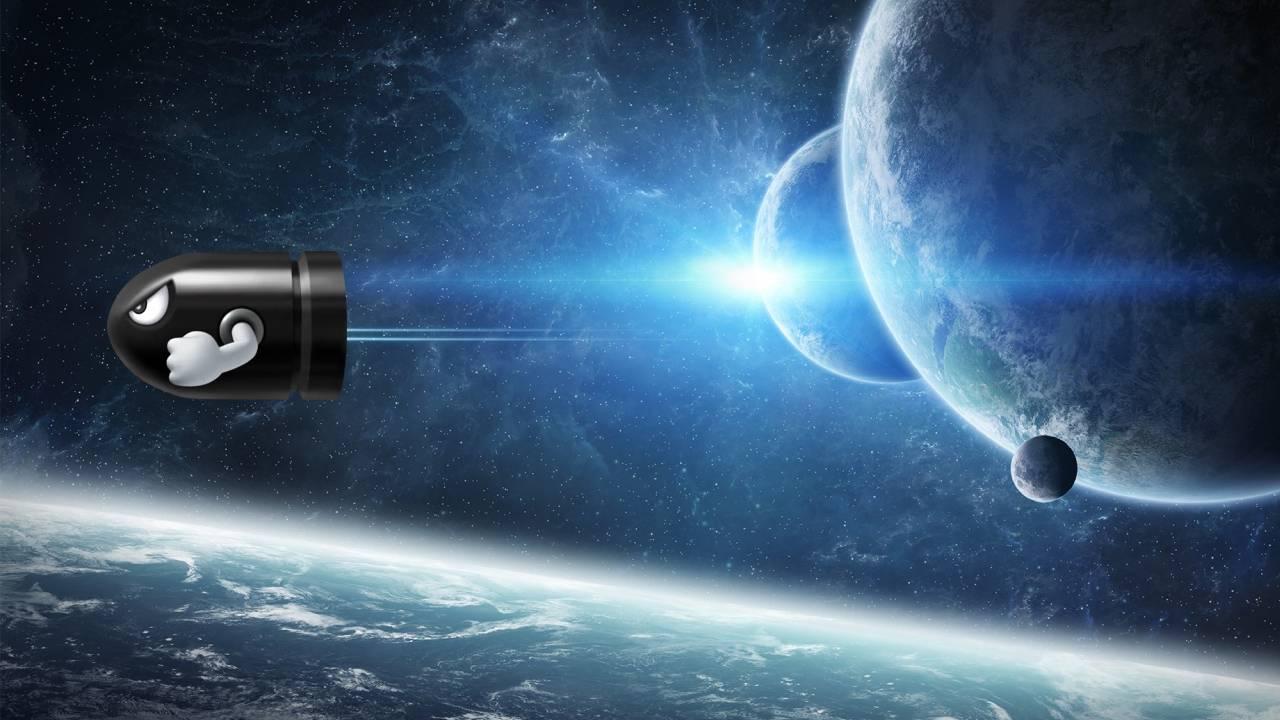 Ciencia balas espacio