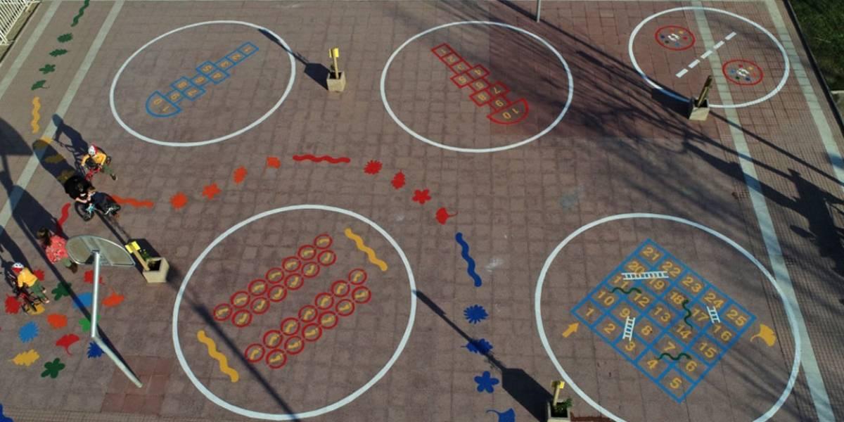 Nueva forma de jugar: así será la reapertura de plazas en Las Condes con actividades seguras para los más pequeños