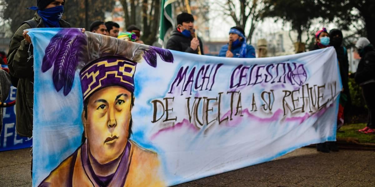 Machi Celestino Córdova pospone hasta el lunes inicio de huelga seca