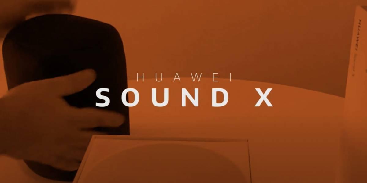 Huawei Sound X: este es nuestro unboxing del nuevo parlante de alta fidelidad