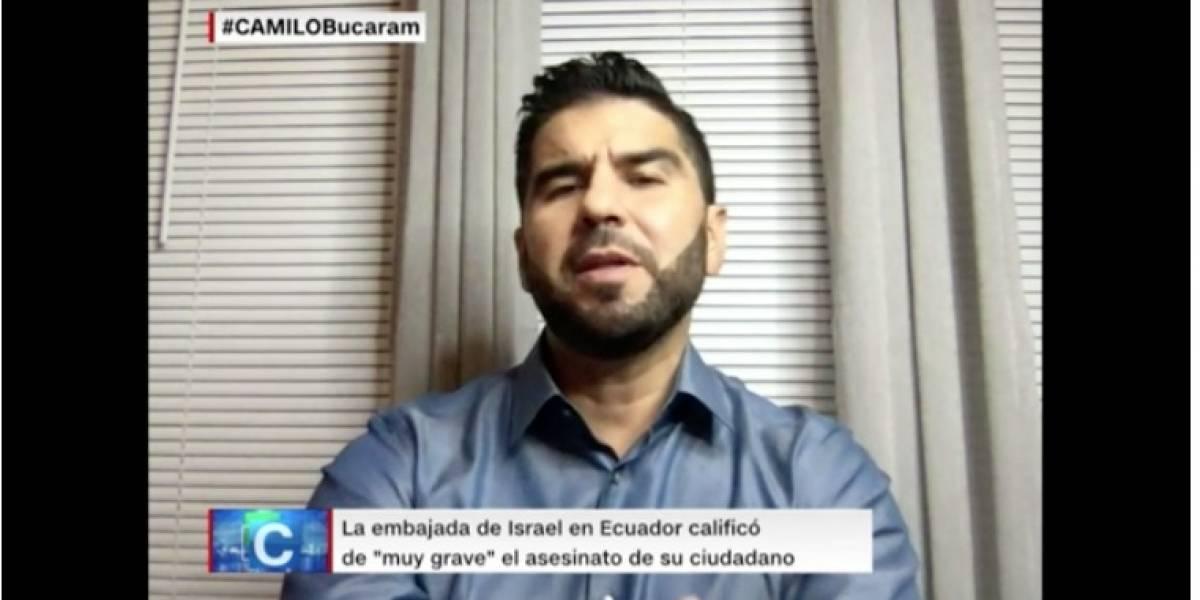 Dalo Bucaram dice que no conoce a los ciudadanos israelíes