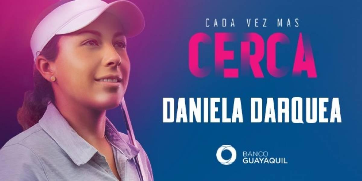 Daniela Darquea, una guerrera en el campo de golf, busca posicionar al Ecuador en las grandes ligas